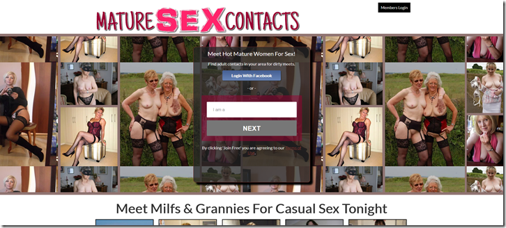 Mature Sex Contacts